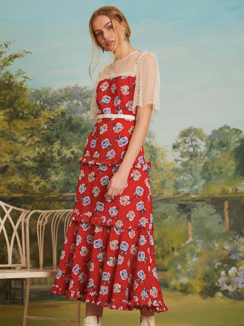 Sister Jane Blooming Bess Maxi Dress