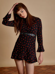 Fever Pitch Studded Mini Dress