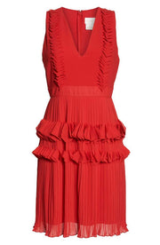 LOVE 3D DRESS RED