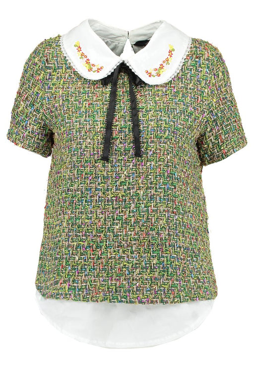 Cut Your Mosses Oyster Blouse ...