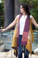 Fusion Cloak Online in Maroon and Mustard