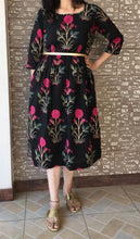 Handmade Cool Cotton Block Printed Dress for Summer