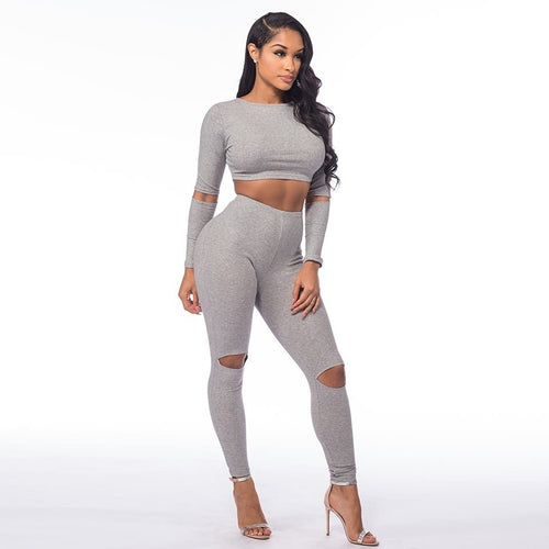Two Piece Set - Don't Sweat It Two Piece Set