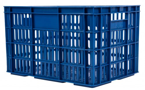 bicycle crate plastic 33.6 litres dark blue