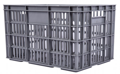bicycle crate plastic 33.6 litres grey