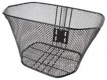 handlebar bike basket 17 liters black
