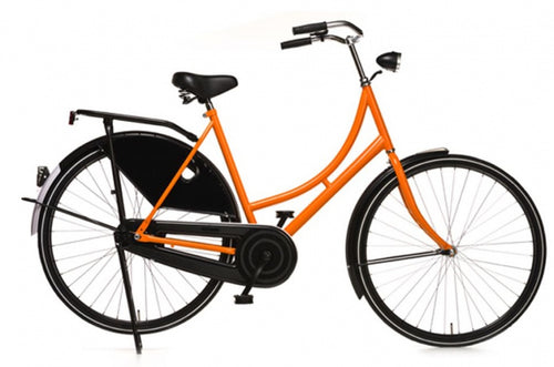 Avalon Oma Export 28 Inch 57 Cm Women Coaster Brake Black/Orange