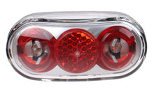 taillight Basta Micro-Scope battery led red / gray