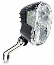 Headlight Echo LED 15 Lux car dynamo black