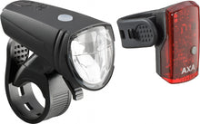 Lighting set Greenline 15 battery led black