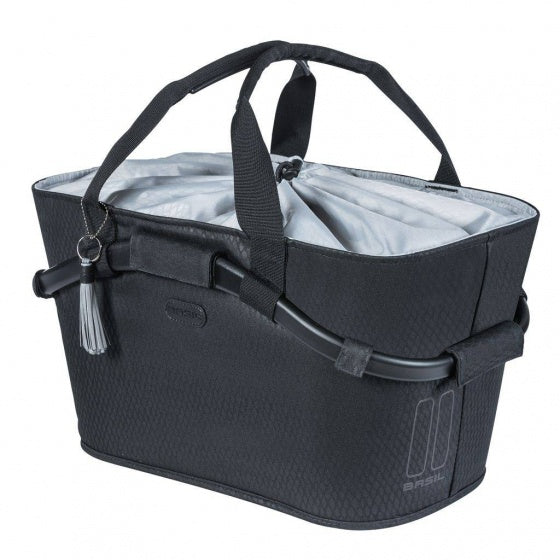 bicycle basket Noir black 22 litres