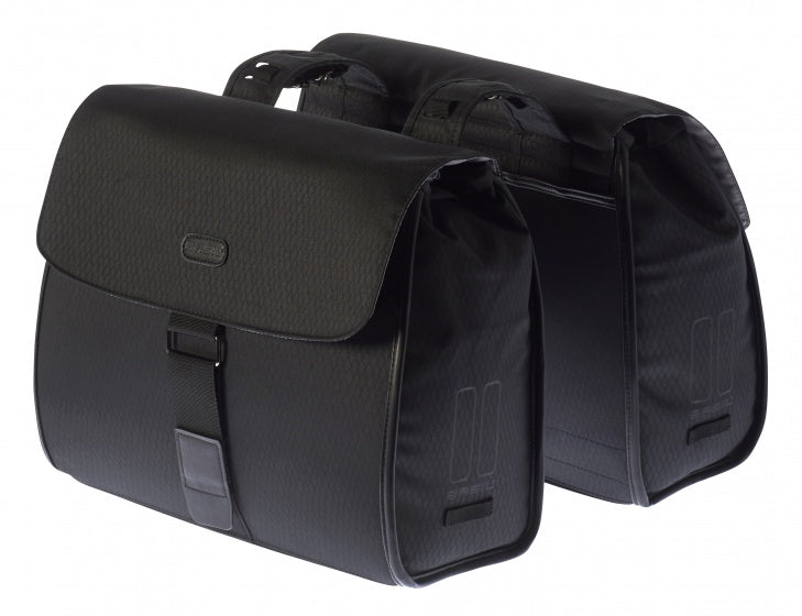 double bag Noir 38L black