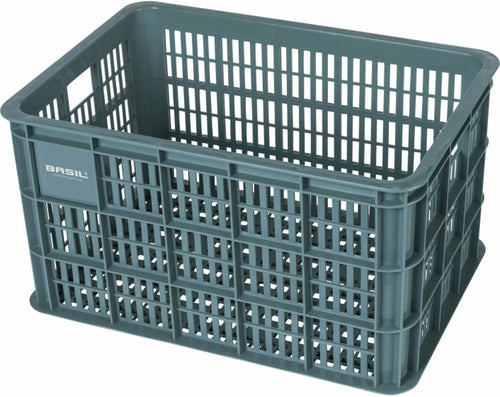 bicycle crate 50 liters green