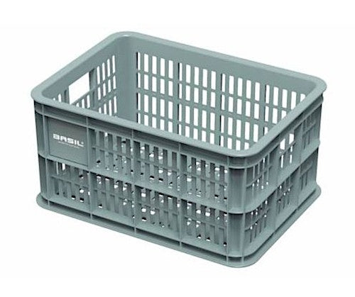 bike crate plastic for 25 litres MIK green