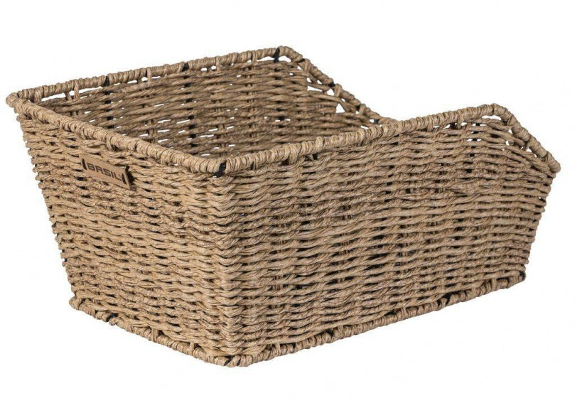 bicycle basket Centorattan look seagrass 45 liters brown