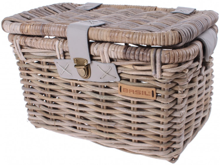 bicycle basket Dentonfront carrier grey 24 litres