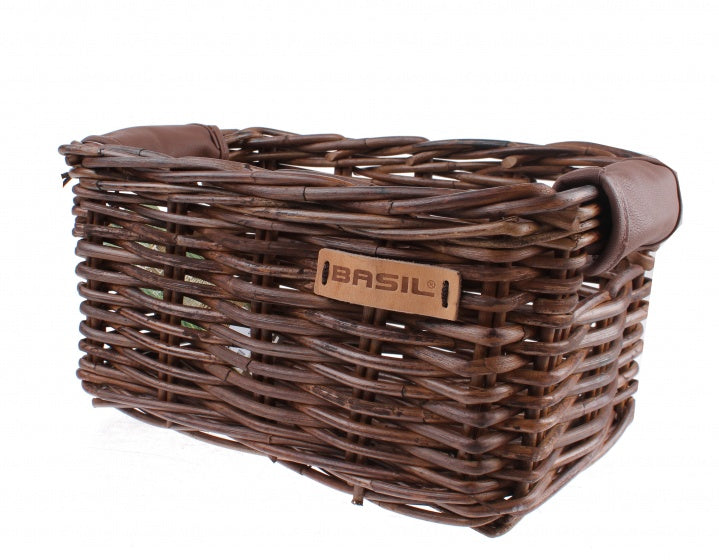 bicycle basket Dorset XS 10 litres natural brown