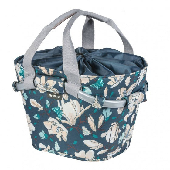 bike basket Magnolia front pastel blue 15 liters
