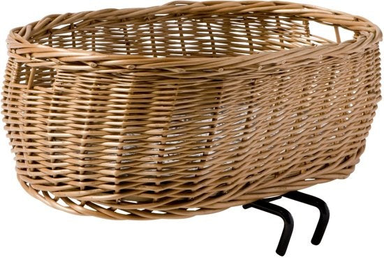 dog basket Pluto50 cm with pillow brown