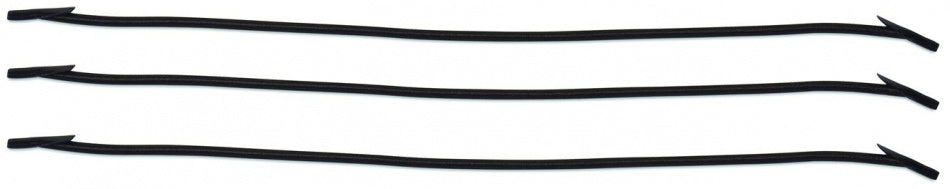 Keep In Place elastic cord black 3 pieces