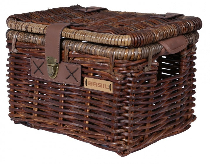 basket Dentonrattan medium 23 litres brown