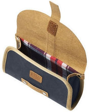 saddle bag Portland blue 0,5 liter