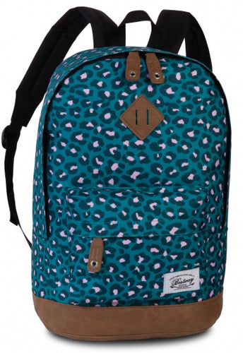 backpack Campus Trendblue/pink 21 litres
