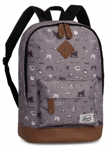 backpack Campus Trend gray 21 liters
