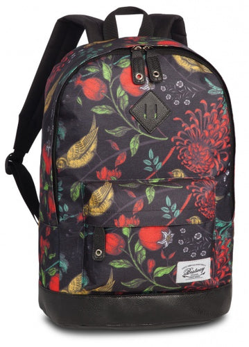backpack Campus Trendblack/red 21 litres