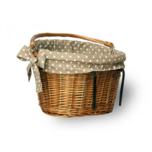 clip on bike wicker basket