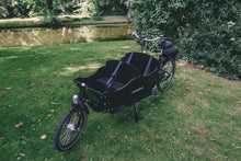 electric long john cargo bike
