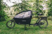 Family long john cargo bike