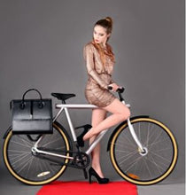 chic cycling bag
