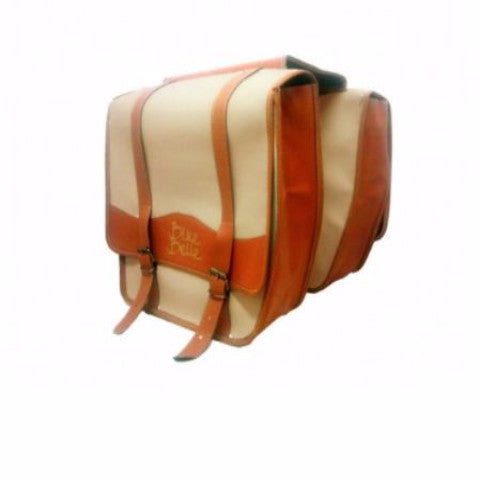 stylish double bike pannier
