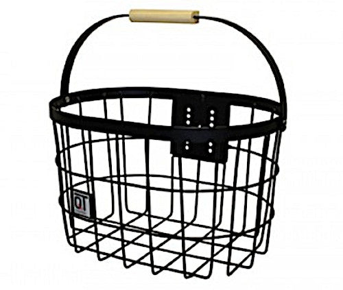 bicycle basket Messinafor 25 litres black