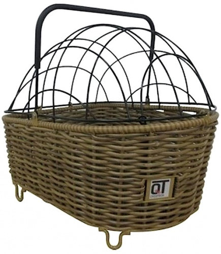 dog basket Trento 2.0 with dome 55 liters light brown