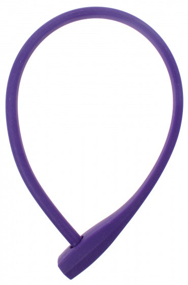 Cable lock 600 x 10 mm purple