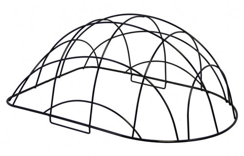 dome for dog basket 40 x 31 x 18 cm black