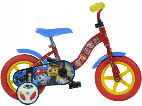 Dino Paw Patrol 10 Inch 17 Cm Boys Fixed Gear Red/Blue