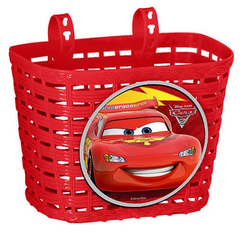 bicycle basket Cars red 4 liters
