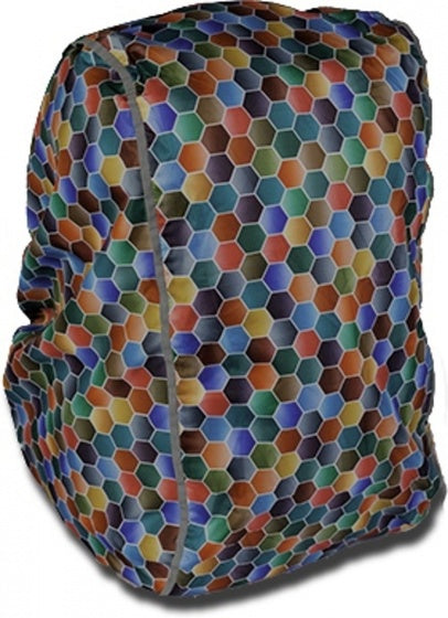 rain cover Spring for backpack 50 x 40 x 20 cm multicolor