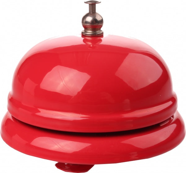 bicycle bell hotel bell style 76 mm red