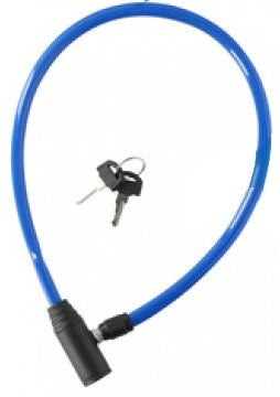 cable lock 650 x 4 mm blue