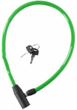 cable lock 650 x 4 mm green