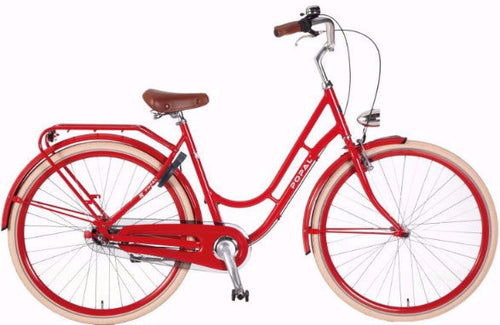 Retro Vintage Style Cute Bike