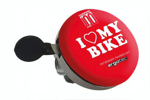 bicycle bell I Love my Bike60 mm red