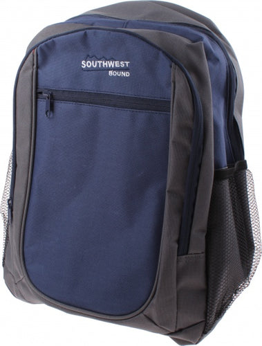 backpack Southwest Bound gray / blue 13.5 liters