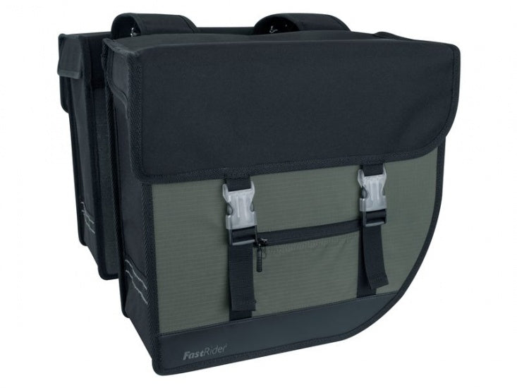 double pannier led Hybrid Medium 26L black / gray