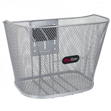 Bicycle basket Betuwe 15 liters silver