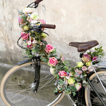 flowers for bike decoration